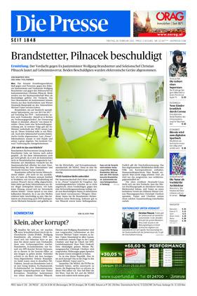 Die Presse (26.02.2021)