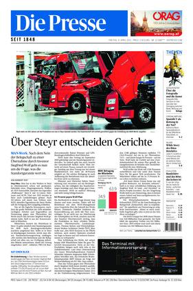 Die Presse (09.04.2021)