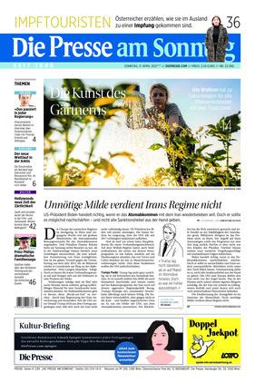 Die Presse (11.04.2021)