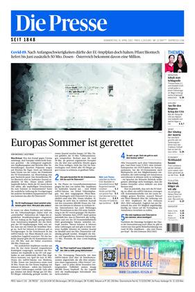 Die Presse (15.04.2021)