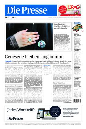 Die Presse (21.06.2021)