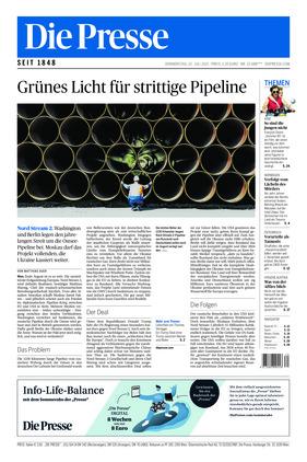 Die Presse (22.07.2021)