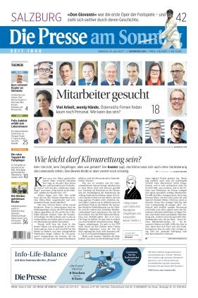 Die Presse (25.07.2021)