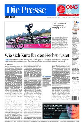 Die Presse (26.07.2021)