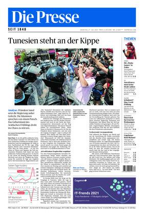 Die Presse (27.07.2021)