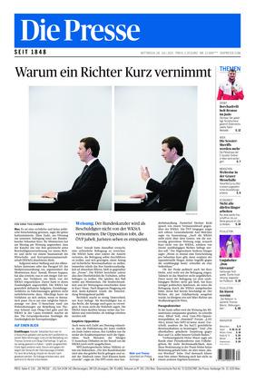 Die Presse (28.07.2021)