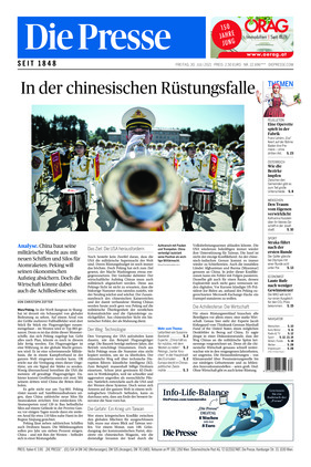 Die Presse (30.07.2021)