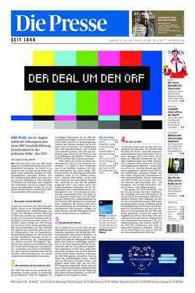 Die Presse (31.07.2021)