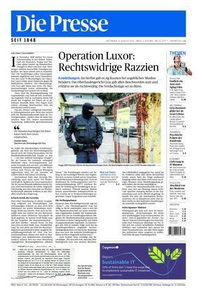 Die Presse (04.08.2021)