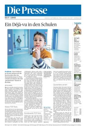 Die Presse (14.09.2021)