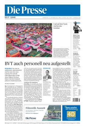 Die Presse (16.09.2021)