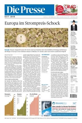 Die Presse (17.09.2021)