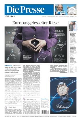 Die Presse (18.09.2021)