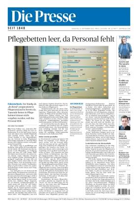 Die Presse (21.09.2021)