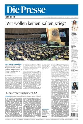 Die Presse (22.09.2021)