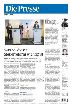 Die Presse (23.09.2021)