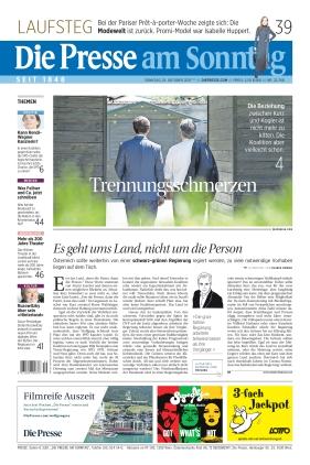 Die Presse (10.10.2021)