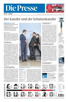 Die Presse (11.10.2021)