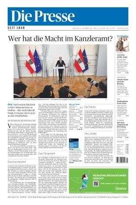 Die Presse (12.10.2021)