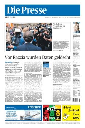 Die Presse (13.10.2021)