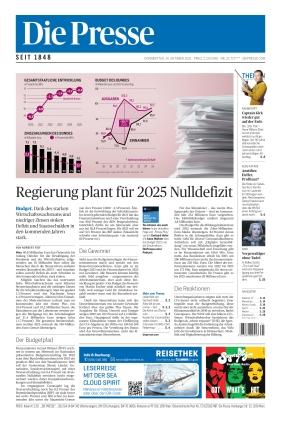 Die Presse (14.10.2021)