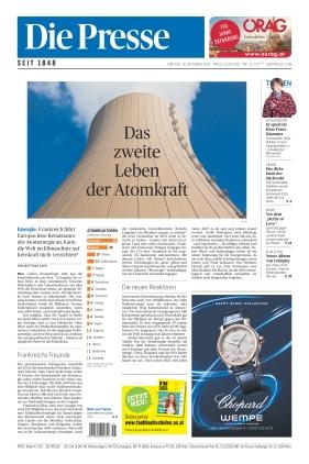 Die Presse (15.10.2021)