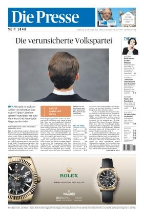 Die Presse (16.10.2021)