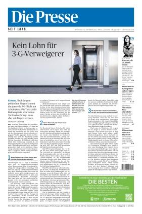 Die Presse (20.10.2021)