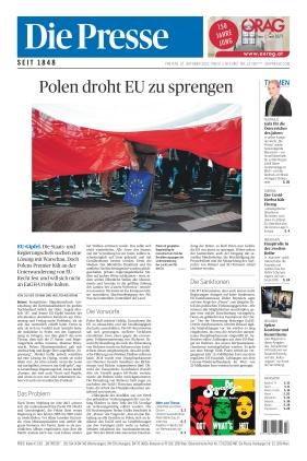 Die Presse (22.10.2021)