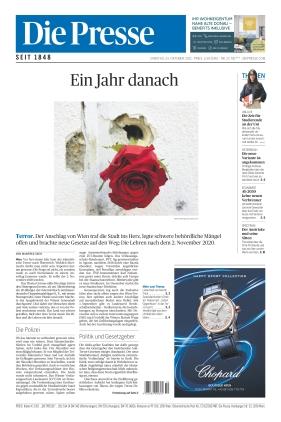 Die Presse (23.10.2021)