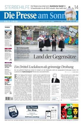 Die Presse (24.10.2021)
