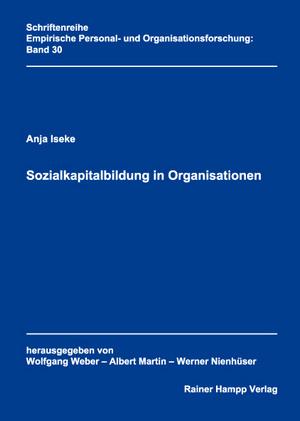 Sozialkapitalbildung in Organisationen