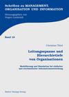 Leitungsspanne und Hierarchietiefe von Organisationen