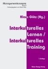 Interkulturelles Lernen, interkulturelles Training