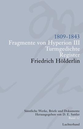 1806 - 1843, Homburg, Tübingen