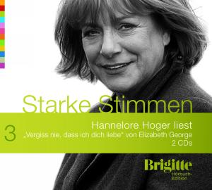 """Hannelore Hoger liest """"Vergiss nie, dass ich dich liebe von Elizabeth George"""""""