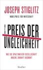 Vergrößerte Darstellung Cover: Der Preis der Ungleichheit. Externe Website (neues Fenster)