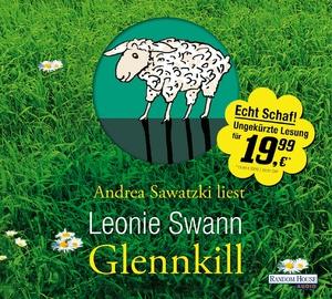 """Andrea Sawatzki liest Leonie Swann """"Glennkill"""""""