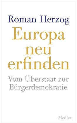Europa neu erfinden