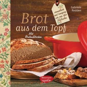 Brot aus dem gusseisernen Topf