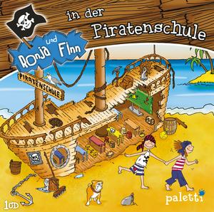 Ronja und Finn in der Piratenschule