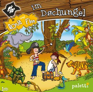 Ronja und Finn im Dschungel