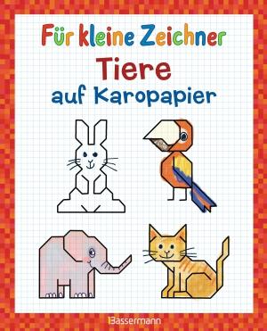 Für kleine Zeichner - Tiere auf Karopapier