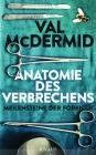 Vergrößerte Darstellung Cover: Anatomie des Verbrechens. Externe Website (neues Fenster)