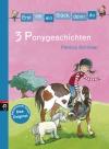 Vergrößerte Darstellung Cover: 3 Ponygeschichten. Externe Website (neues Fenster)