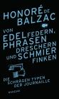 Vergrößerte Darstellung Cover: Von Edelfedern, Phrasendreschern und Schmierfinken. Externe Website (neues Fenster)