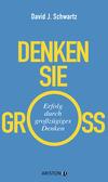 Vergrößerte Darstellung Cover: Denken Sie groß!. Externe Website (neues Fenster)