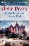 Vergrößerte Darstellung Cover: Letzte Stunde im Hyde Park. Externe Website (neues Fenster)