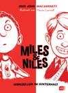 Vergrößerte Darstellung Cover: Miles & Niles - Hirnzellen im Hinterhalt. Externe Website (neues Fenster)
