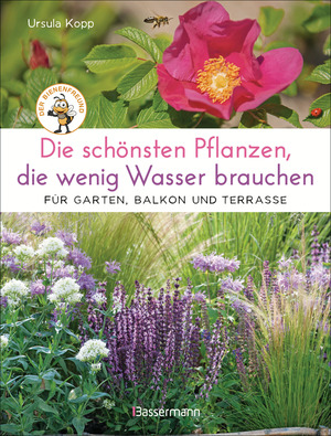 Die schönsten Pflanzen, die wenig Wasser brauchen für Garten, Balkon und Terrasse - 66 trockenheitsverträgliche Stauden, Sträucher, Gräser und Blumen, die heiße Sommer garantiert überleben